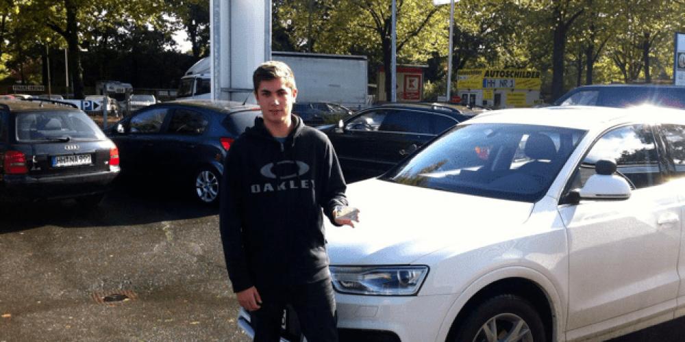 Julian Kosmalla hat den Führerschein 🤗