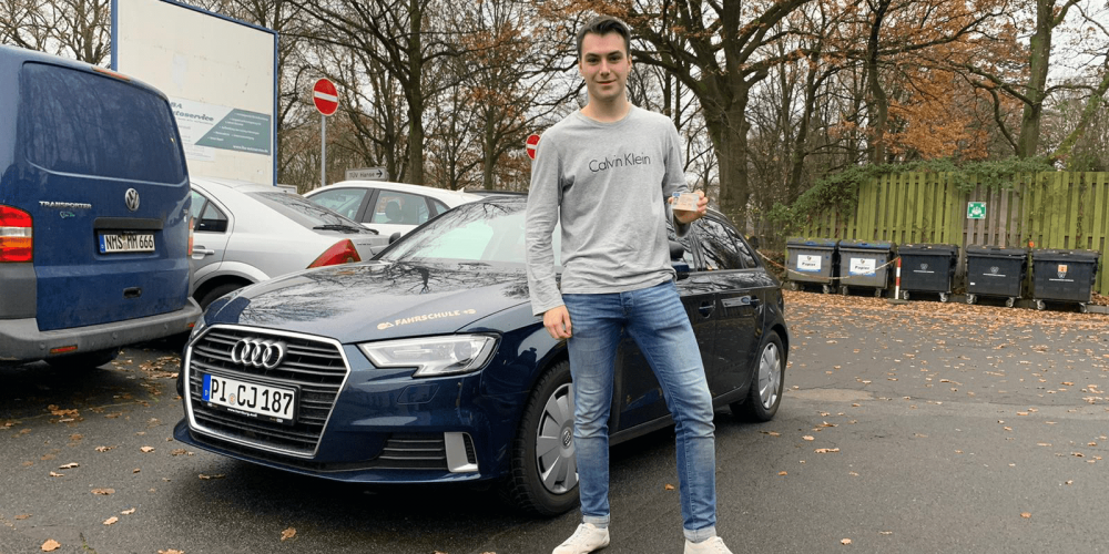 Florian hat den Führerschein 🚙