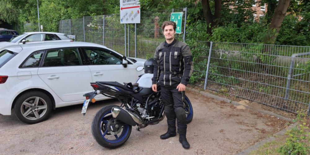 Super Wetter für's Motorradfahren 🏍