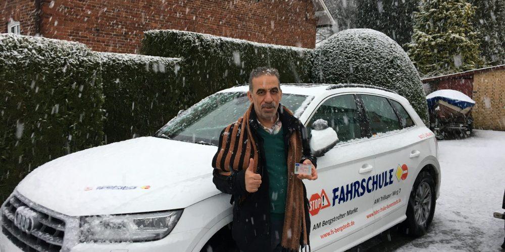 Toll gefahren auch bei Schnee ❄️