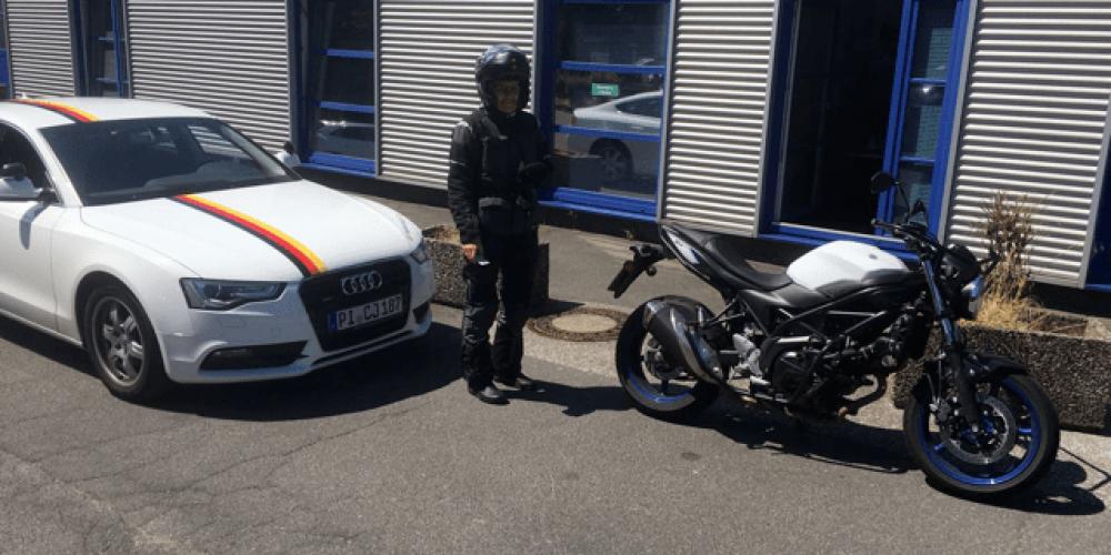 Herrliches Wetter für Motorradfahrer ☀️