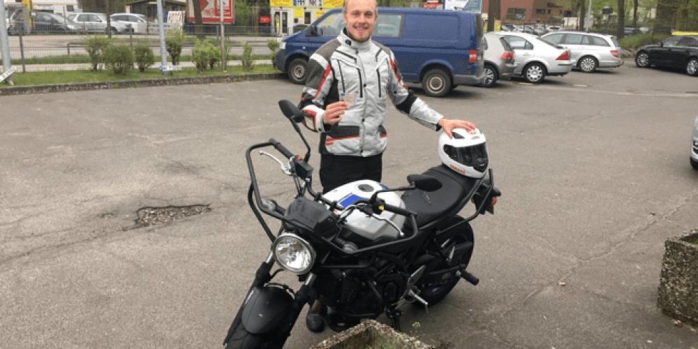 Die Motorradtouren können losgehen 🏍