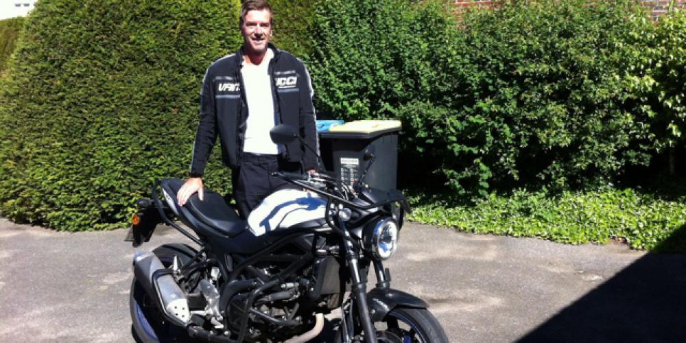 Rauf auf's Motorrad 🏍…..